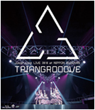 LIVE 2018 at NIPPON BUDOKAN TRIANGROOOVE Blu-ray Cover